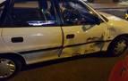 Un conductor sin carné sufre un accidente en la plaza de Merindades
