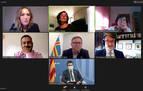Gómez reafirma el compromiso de Navarra con los ODS frente a la COVID-19