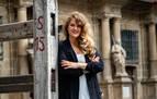 """Adriana Eransus: """"Volvería a pintar el mismo cartel con una Pamplona que celebra la espera"""""""