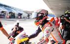 El fuerte calor no impide a Marc Márquez mandar en el GP de España