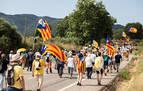 Sabotaje al AVE entre Girona y Figueras como protesta por la visita de los Reyes