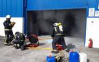 La empresa Caldenor sufre un incendio que ha sido controlado por los trabajadores