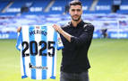 Mikel Merino, 'txuri urdin' hasta 2025
