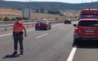 Seis personas heridas en dos accidentes en la A-12, en Astráin