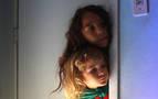 Tres hermanos de 2, 4 y 7 años, rumbo al festival de São Paulo