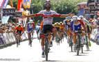 El colombiano Gaviria gana al sprint la segunda etapa de la Vuelta a Burgos