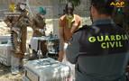 Intervienen doce especímenes de Lémur cola anillada que poseía un vecino de Nerpio