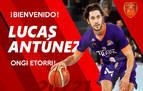 Lucas Antúnez, nuevo base del Basket Navarra
