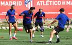 El Atlético confirma que no hay más positivos que los de Correa y Vrsaljko