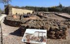 Pueblo de la Edad del Hierro, en Berbinzana