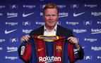 Koeman: &quotMe encantaría trabajar con Messi, porque Messi gana partidos