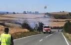 Un pequeño incendio calcina una hectárea en las proximidades de Viana