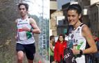 Ion Sola e Irene Segura, campeones navarros