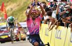 El colombiano Daniel Martínez gana la etapa y Roglic afianza el liderato
