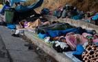 Grecia traslada a un campamento temporal a parte de los migrantes de Moria