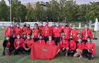 Seis medallas para Navarra en el nacional al aire libre de tiro con arco