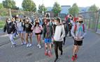 Adolescentes, positivos y cierre de aulas en Navarra