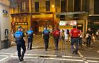 Fiestas en piperos y huertas y 24 botellones en Navarra, entre las intervenciones de Policía Foral