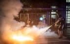 Policías heridos y decenas de detenidos en los disturbios raciales en Louisville