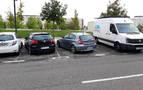 Quejas por las maniobras para aparcar en una calle del barrio