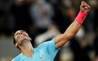 El mundo del deporte muestra su admiración a Rafa Nadal