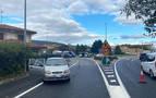 Dos vehículos colisionan en la PA-30 a la entrada de Orkoien