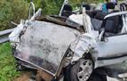 Muere un hombre en la colisión de su coche con un camión en Amaiur