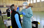 El cribado de PCR moviliza a Carcastillo para calibrar el nivel de contagio