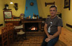 Mikel Albisu, 31 años en el albergue de Beintza-Labaien