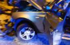 Pierde el control de su vehículo y arrolla a 5 coches aparcados en Zizur Mayor