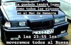 Detenido tras escapar de una 'quedada' de coches en Urbasa