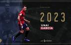 Unai García renueva hasta 2023
