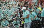 Hamilton hace campeón a Mercedes en Imola y Sainz termina séptimo