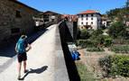 El cierre perimetral pilla a algunos peregrinos en plena travesía por Navarra