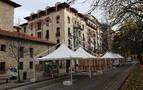 Pamplona permitirá temporalmente instalar terrazas tipo jaima y otro tipo de cierre