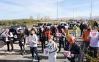Una caravana de hosteleros reclama en Pamplona la reapertura de sus locales