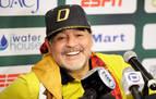 El papa dice que Maradona era