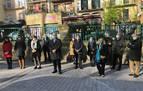 Pamplona conmemora la colocación de la primera piedra del II Ensanche