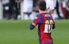 Osasuna, convidado de piedra en el homenaje de Messi a Maradona