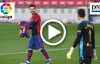 Vídeo Barcelona-Osasuna: dedicatoria de Messi a Maradona (jornada 11)