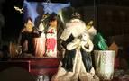 La merindad ultima las llegadas de Papá Noel, Olentzero y Reyes Magos
