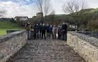 Cultura restaura el puente medieval de Saigots en Esteribar