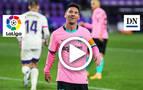Resumen del Valladolid 0-3 Barcelona en vídeo
