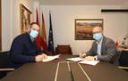 El Gobierno de Navarra y Galar mejorarán la carretera Esparza-Salinas