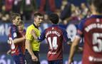 Osasuna se estrenará con el árbitro Soto Grado frente al Real Madrid