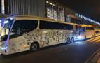El Real Madrid aterriza en Pamplona tras estar atrapados en Barajas