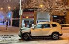 Registrados 10 accidentes este fin de semana en Pamplona debido al temporal