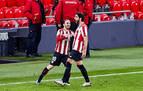 El Athletic golea en una noche mágica de Muniain y Raúl García