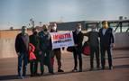Los presos del 'procés' salen de Lledoners pidiendo la amnistía