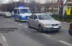 Herida grave una mujer en un accidente laboral en Pamplona